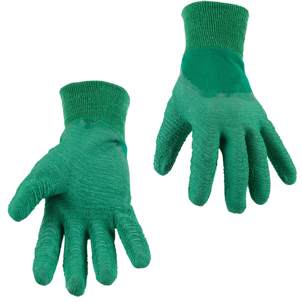 Kreator Extra Grip Latex Gardening Gloves - Size 10 KRTG001XL