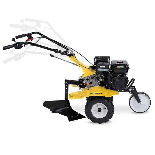 Powerplus 208cc 2in1 Petrol Cultivator & Plough POWXG7217