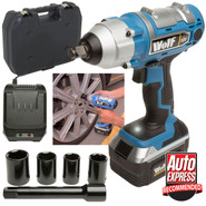 Wolf 380NM Torque 18v Cordless 1/2