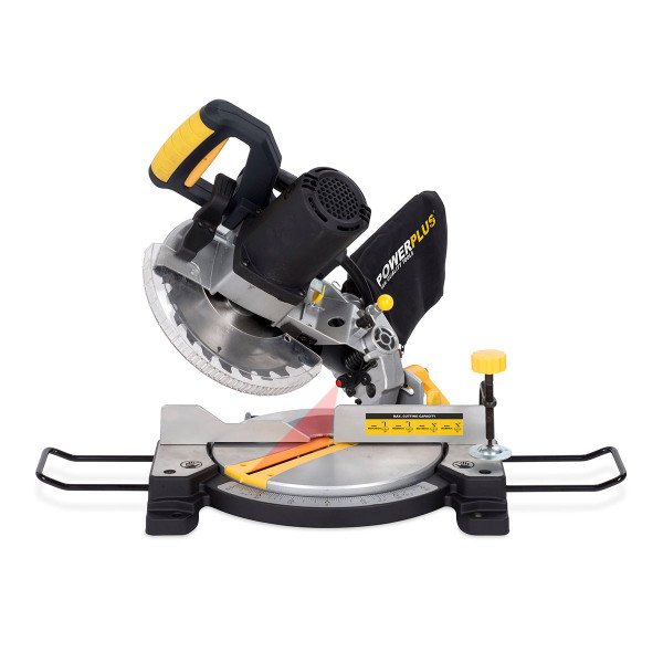 Powerplus 210mm 1500W Compound Mitre Saw POWX07554