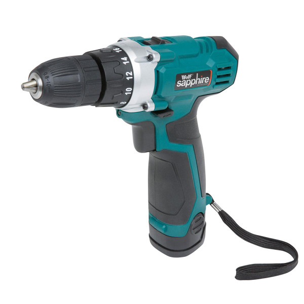 Wolf Sapphire 12v Drill Driver Kit