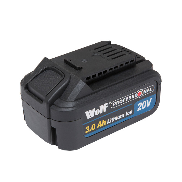 Wolf Professional 20v 3amp/hr Battery