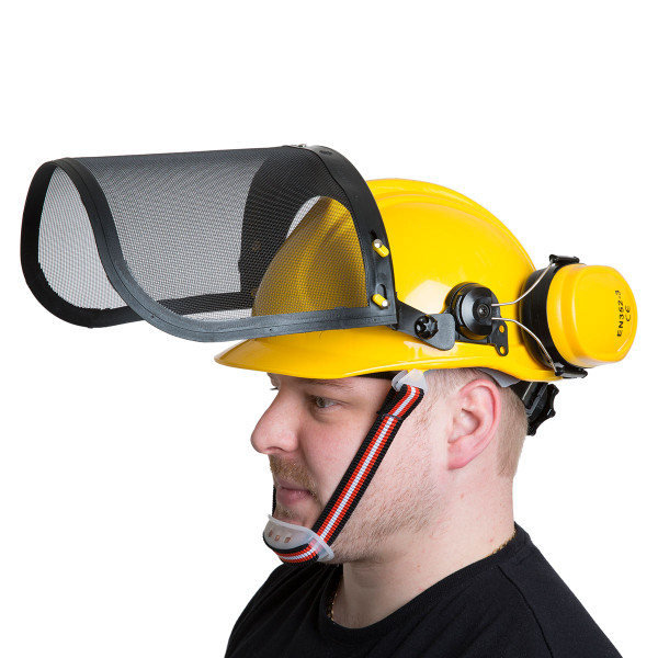 Wolf Safety Helmet with Ear Guard and Visor