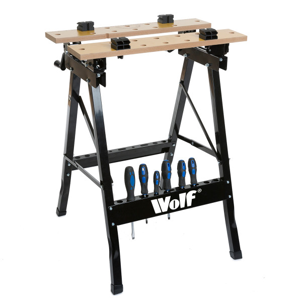 Wolf Craftsman's Folding Workbench