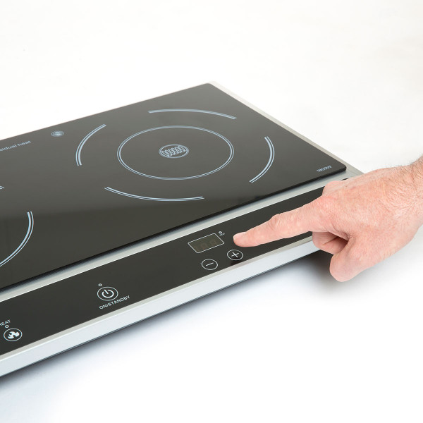 Julie Diane Double Electric 2800w Induction Hob