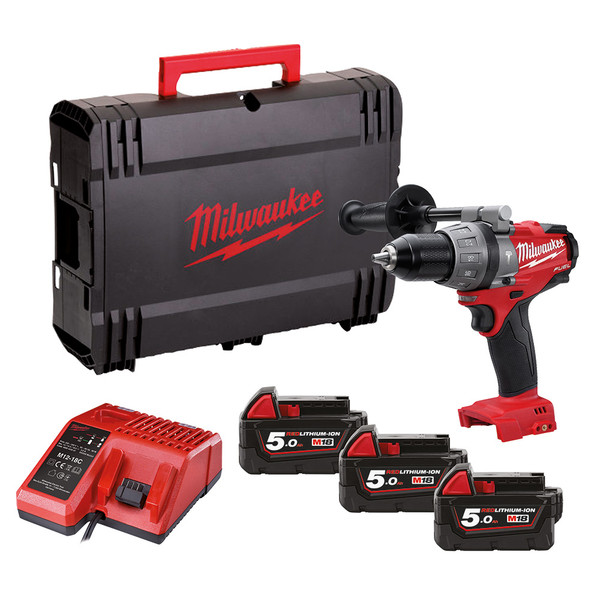 Milwaukee 18v Combi Drill Power Tool Kit