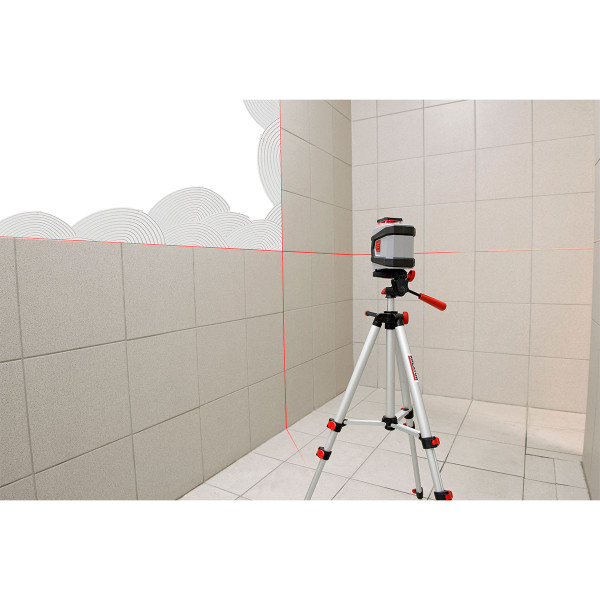 Kreator 360 degrees Cross Laser with Tripod KRT706230T1