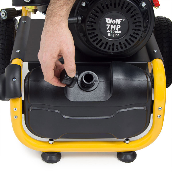 Wolf 220 Bar Petrol Pressure Washer 220