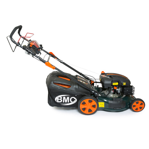 "BMC Lawn Racer 20"" Electric Start Self Propelled Petrol Lawn Mower"