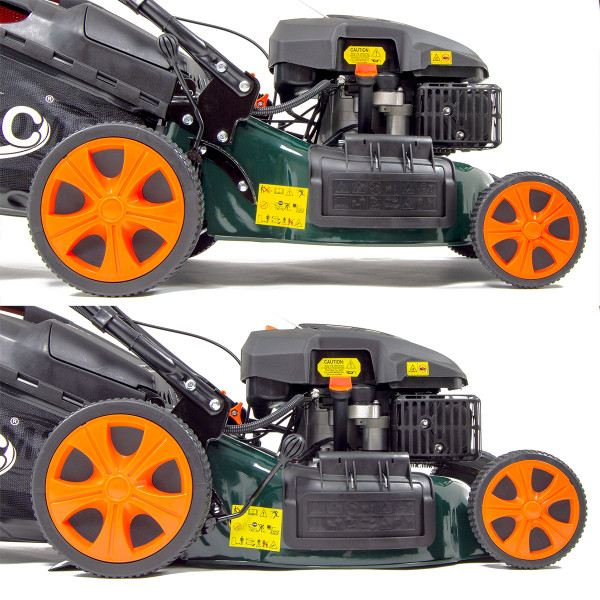 "BMC Lawn Racer 21"" Electric Start Self Propelled Petrol Lawn Mower"