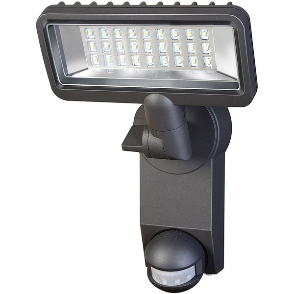 CLEARANCE Brennenstuhl Surface Mounted LED Spotlight With PIR Sensor