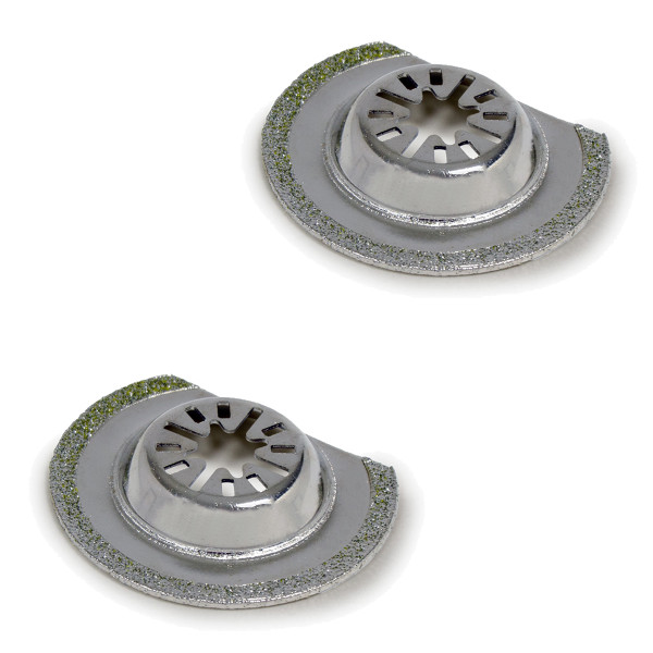 Wolf 63mm Diamond Cutters - Pack of 2
