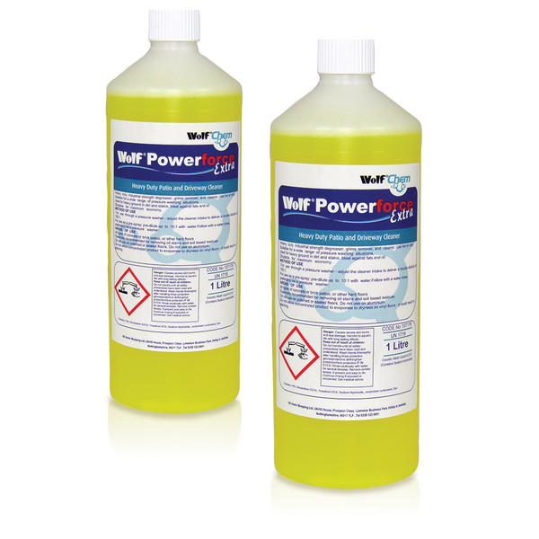 Wolf Power Force Extra Patio Cleaner 2 x 1L