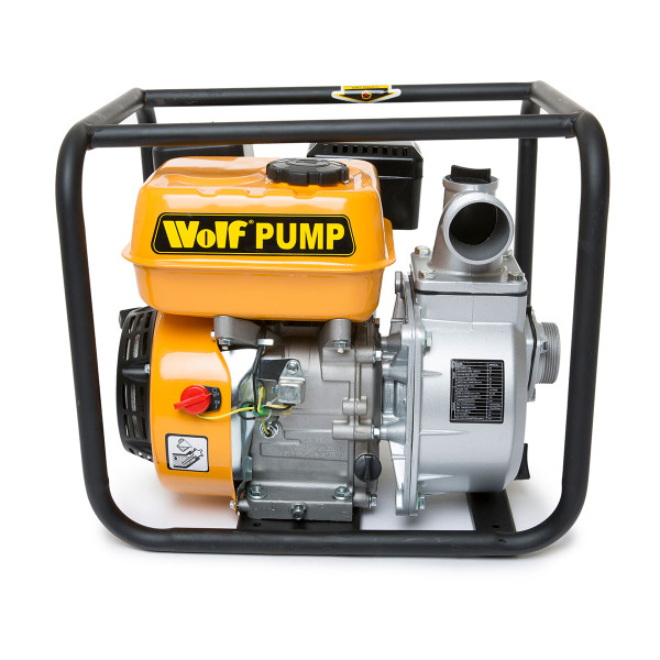 "Wolf 2"" Water Pump & 3m 2"" Suction Hose & 10m 2"" Delivery Hose"