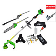 BMC Garden Expert 26cc 6 in 1 Multi Tool & 1m Extension Pole