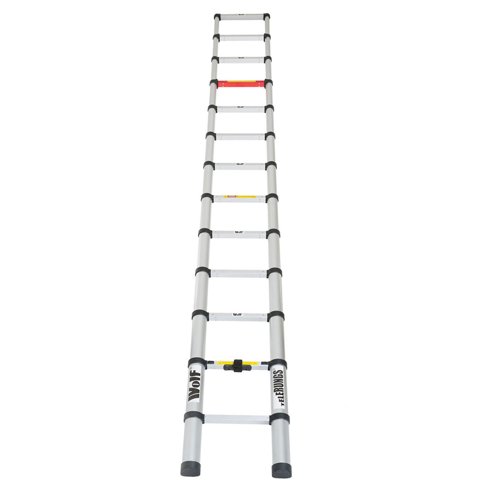 Wolf Telerungs 3 8 Metre Telescopic Ladder