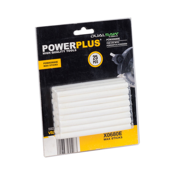 Powerplus Pack of 25 Wax Sticks POWX0680E