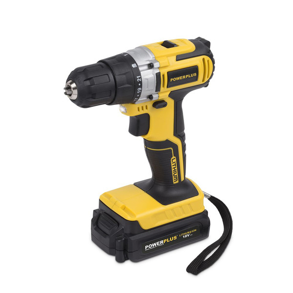 Powerplus 18v Li-ion Drill/Driver with Accessories P