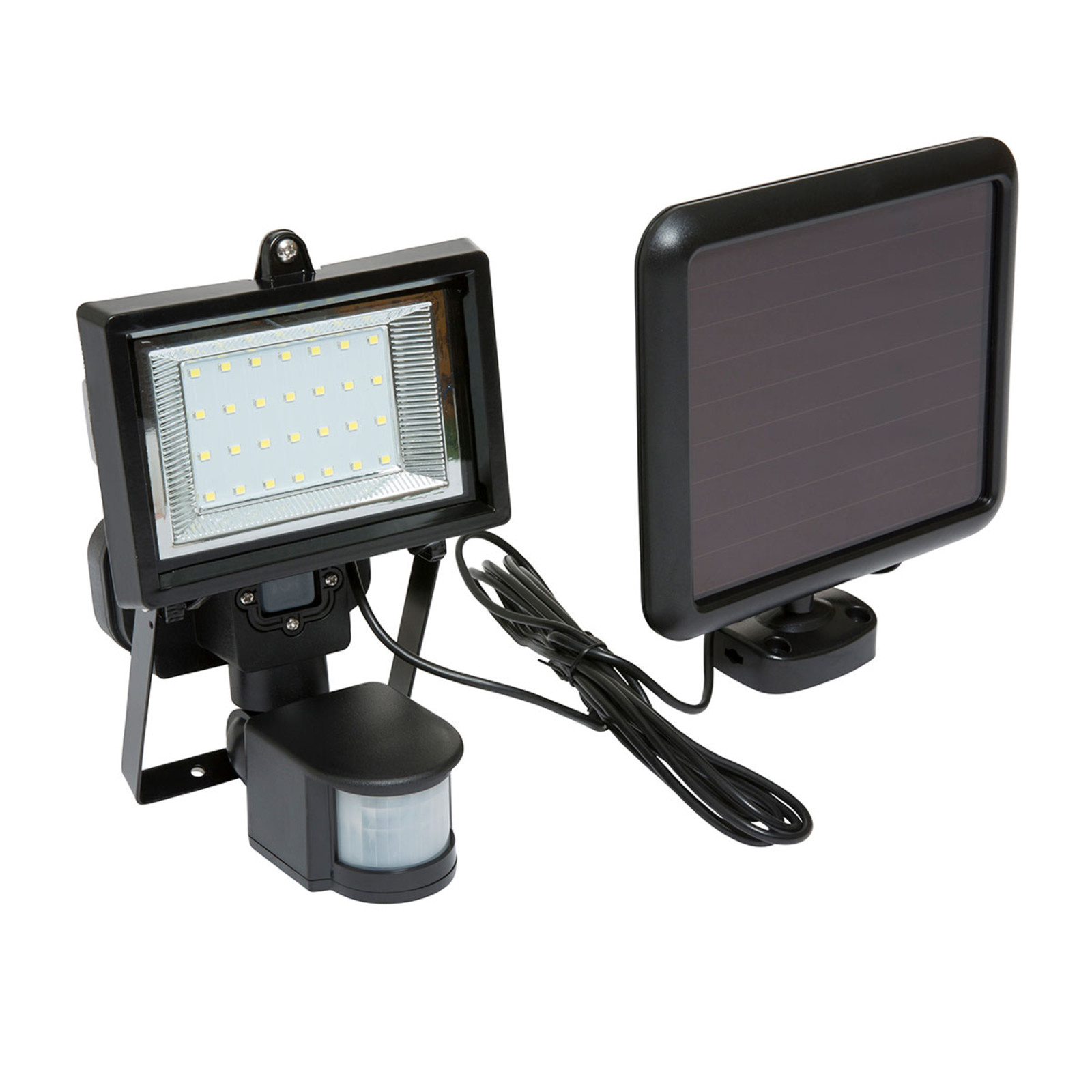 Wolf lighting 28 led solar powered pir security light ukhs click on the image to enlarge mozeypictures Image collections