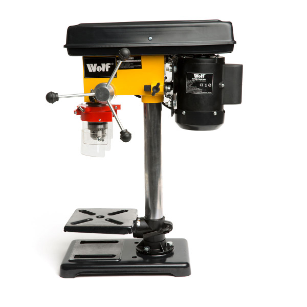 "Wolf Engineer's 9 Speed Pillar Drill with 4"" Vice"
