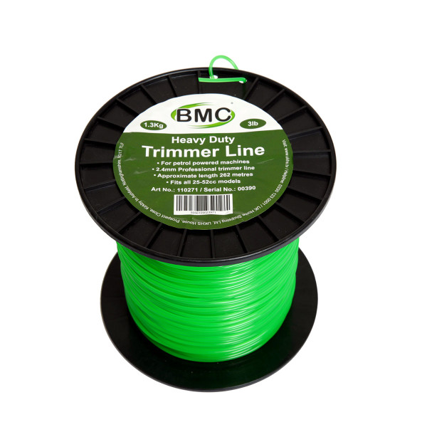 BMC 262 Metre Trimmer Line Spool 2.4mm Dia.