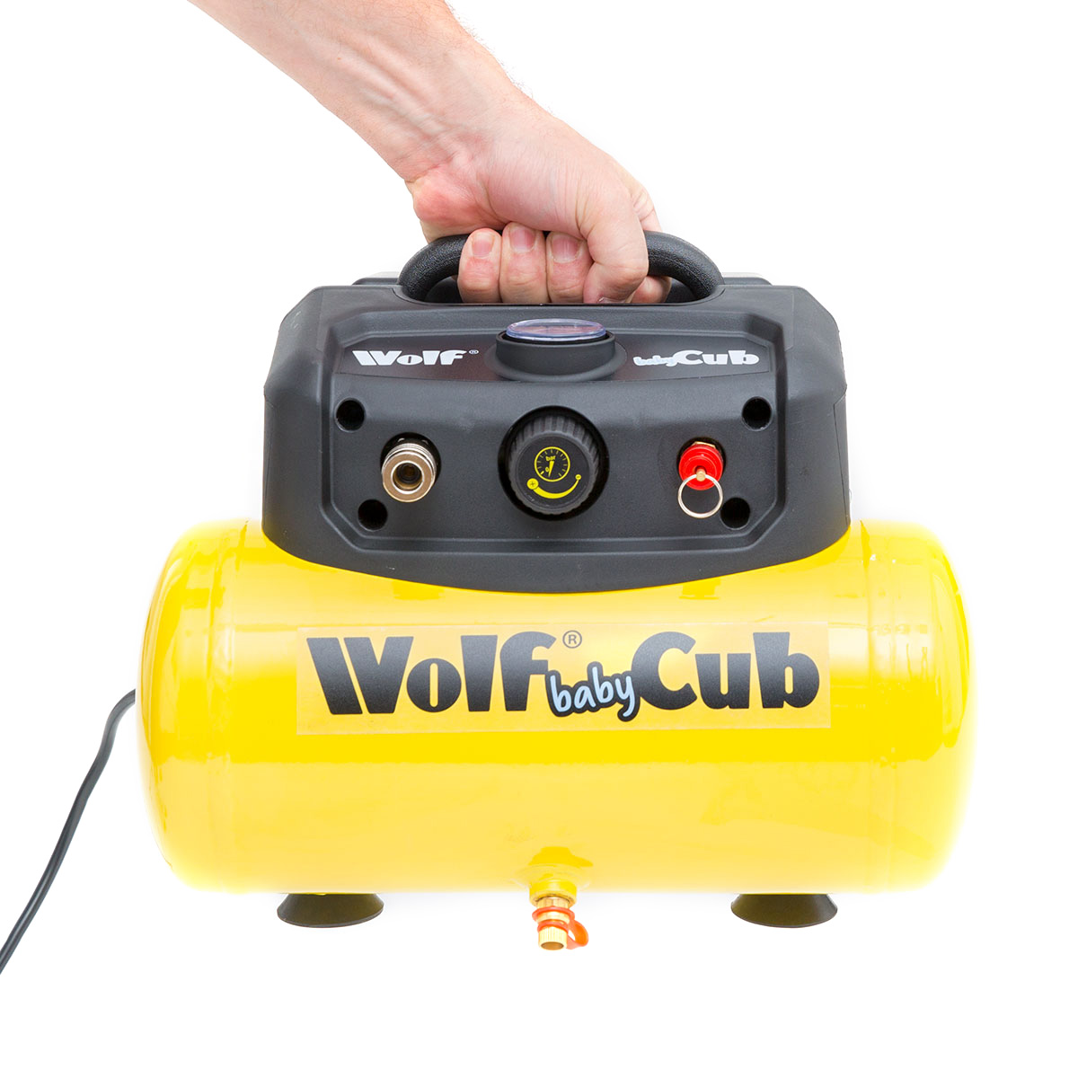 Wolf Baby Cub 6L Air Compressor 116psi 6.3cfm 1.5HP