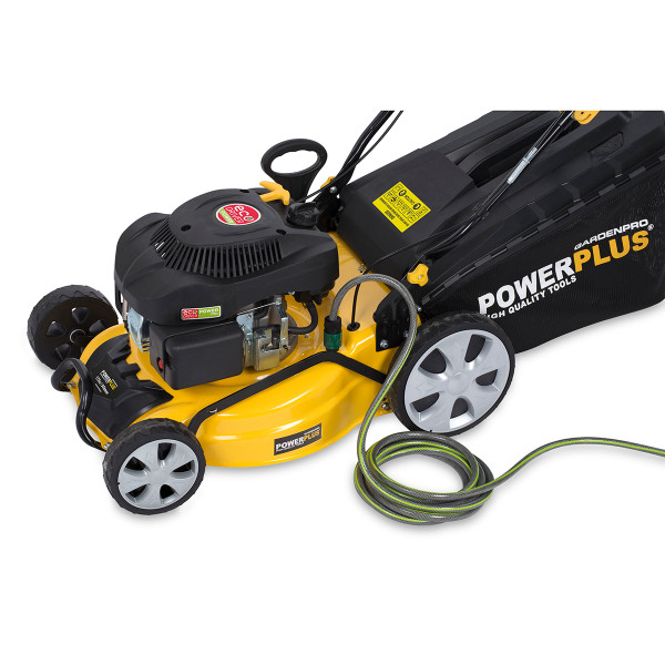 "Powerplus 20"" 4in1 Self Propelled Petrol Lawn Mower POWXG60245"