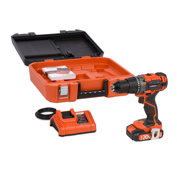 Powerplus 20v Drill/Driver W/ Battery & Charger POWDP1515