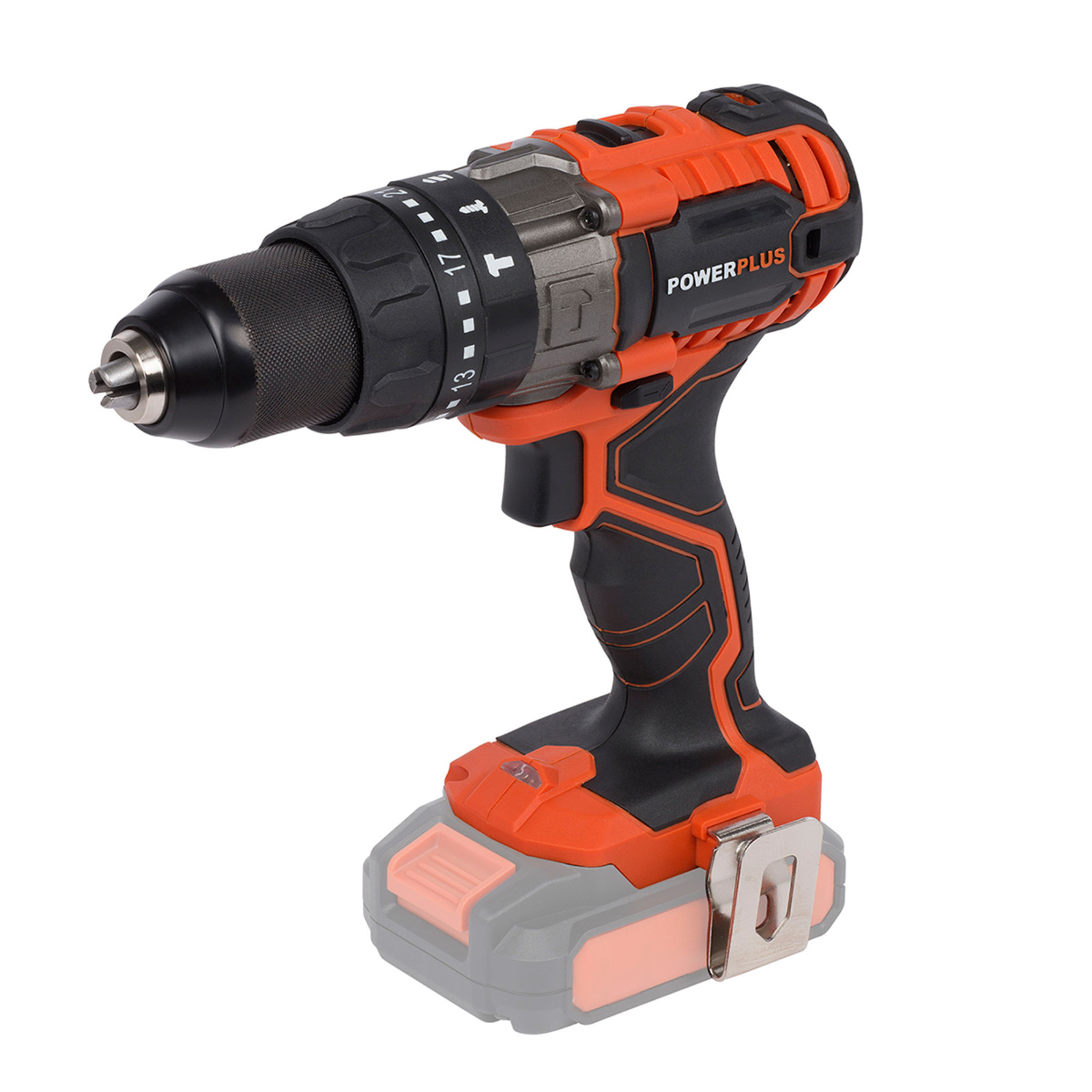 powerplus cordless 20v combi drill dual power | ukhs.tv tools-to-go