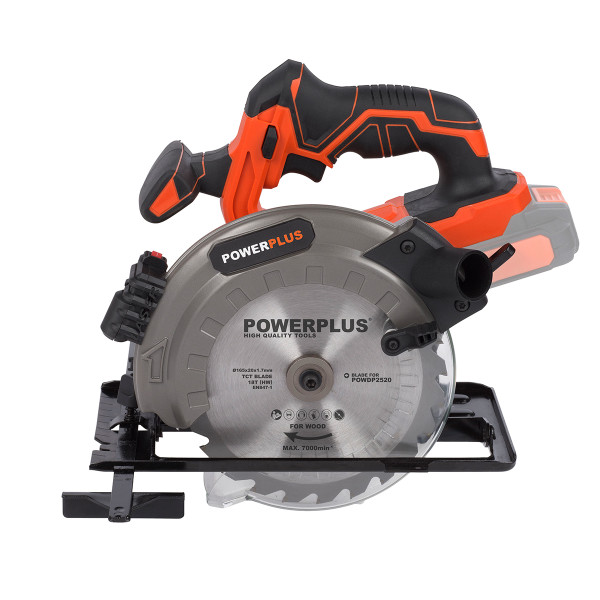 Powerplus Dual Power 20v Circular Saw POWDP2520 - Bare Tool