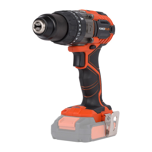 Powerplus 20v Combi Drill W/ Battery, Charger & Bag
