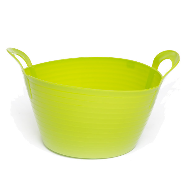 12L Extremely Strong Flexible Buckets - Green