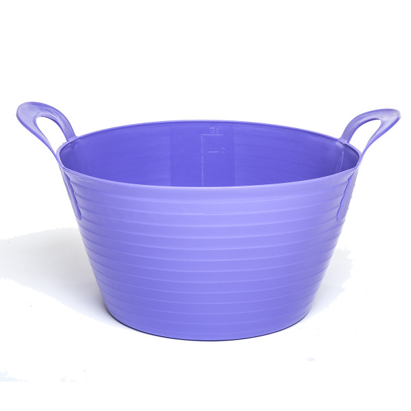 12L Extremely Strong Flexible Buckets - Purple