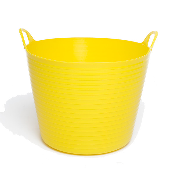 28L Extremely Strong Flexible Buckets - Yellow