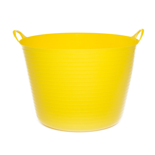 42L Extremely Strong Flexible Buckets - Yellow