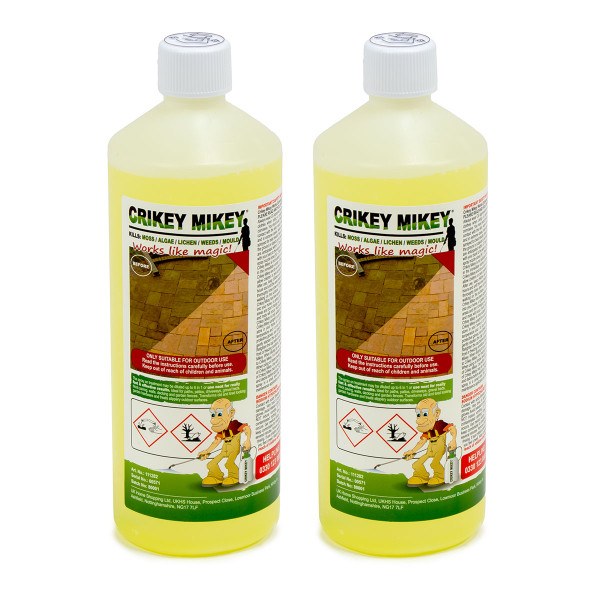 Crikey Mikey Outdoor Cleaning Wizard 2L Standard Cleaning Solution
