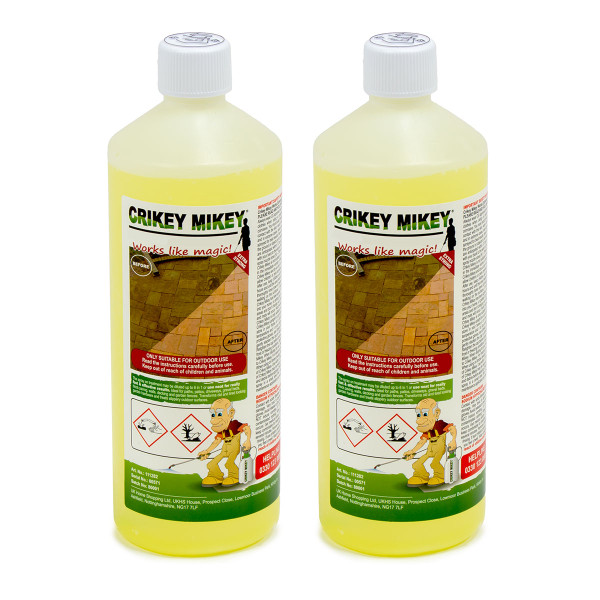 Crikey Mikey Outdoor Cleaning Wizard 2L EXTRA Strong Solution
