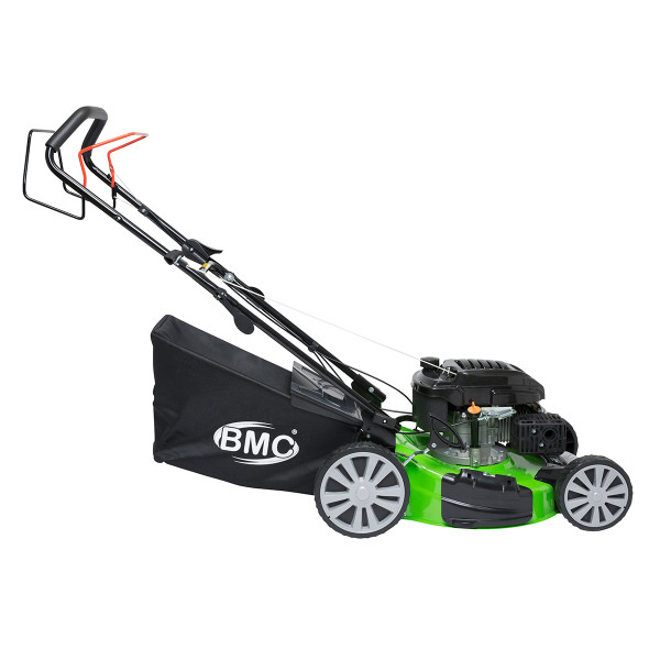 "BMC Lawn Racer Green 460 18"" 4in1 Self Propelled Petrol Lawn Mower"