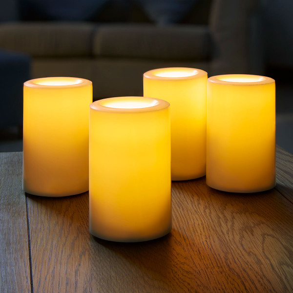 Flameless LED Candle Pack of 4