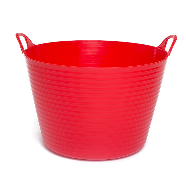 42L Extremely Strong Flexible Buckets - Red