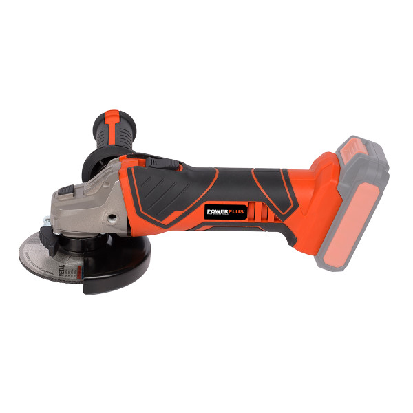 Powerplus 20v Angle Grinder W/ Battery & Charger