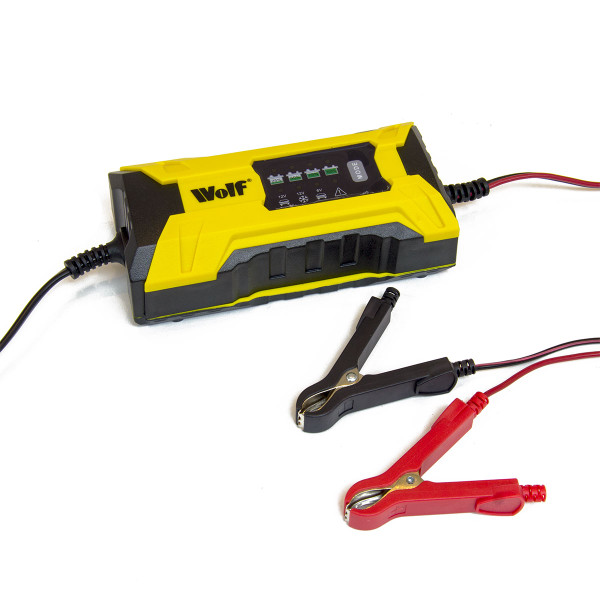 Wolf Intelligent 2A 6v & 12v Battery Charger WBC35