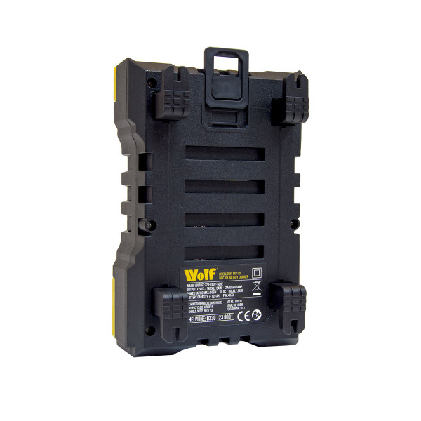 Wolf Intelligent 2A/6A 6v & 12v Battery Charger WBC105