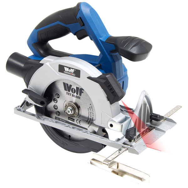 Wolf Professional 20v Circular Saw with Laser - Bare Tool