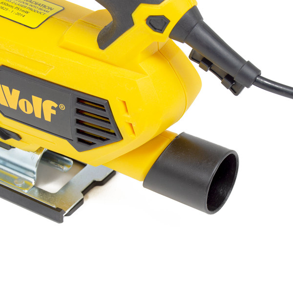 Wolf 800w Electric Pendulum Jigsaw with Laser