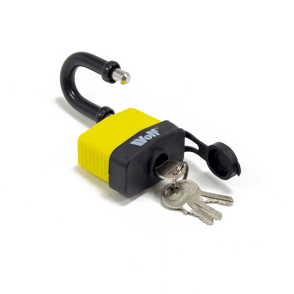 Wolf Heavy Duty 50mm Padlock
