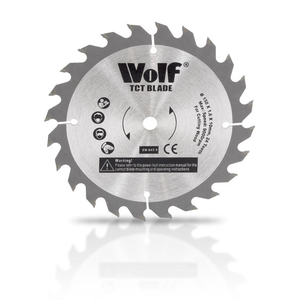 Wolf Professional 24T TCT Spare Circular Saw Blade