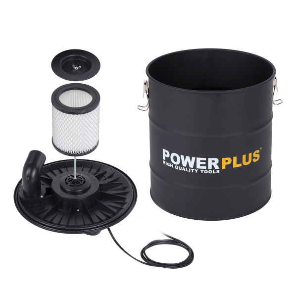 Powerplus 1200w 20L Ash Vacuum Cleaner with Portable Speaker