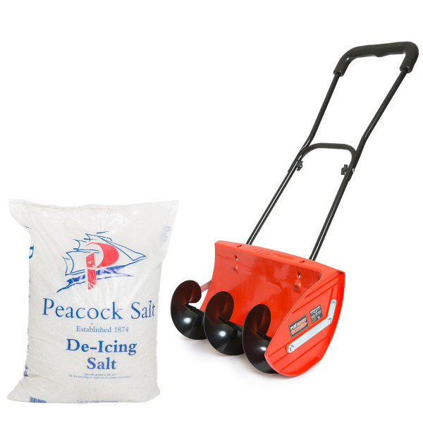Fox Snow Screw with 25kg De-icing Salt