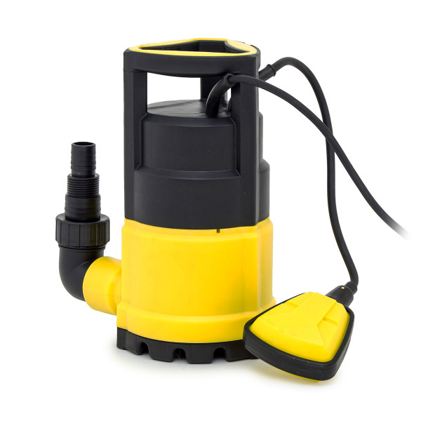 Wolf 250w Submersible Clean Water Pump with 10m Delivery Hose
